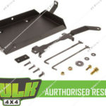 HULK 4x4 Dual Battery Tray for Toyota Landcruiser Prado KDJ155R 1KD-FTV 2009-15
