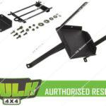 Hulk 4x4 Dual Battery Tray for Mitsubishi Pajero NT 3.2L Diesel 4M41 2008-2011