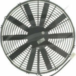 SPAL Fan 16 inch (385mm) Straight 12V Pusher Spal Airflow 2550M3/H 10.5Amps