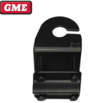 GME MB411B BLACK MIRROR MOUNT ANTENNA MOUNTING BRACKET WITH SLOT (BLACK) HS Autoparts
