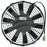 SPAL THERMO FAN 10 Inch (255MM) PULLER ELECTRIC 12V 643 CFM STRAIGHT BLADE